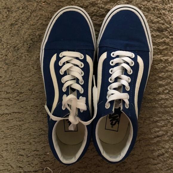 eee2f22c44 Gently used royal blue old skool vans. M 5adf526884b5ce8e9d072bae